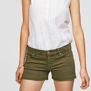 LOFT Cut Off Denim Shorts
